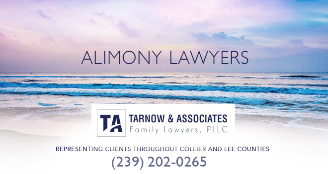 Alimony Lawyers in and near Bonita Springs Florida