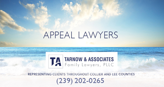 Appeal Lawyers in and near Bonita Springs Florida