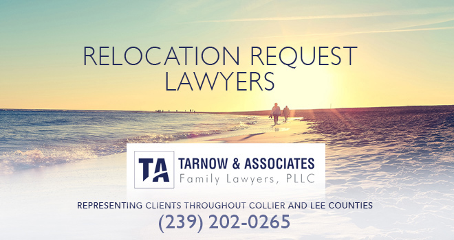 Move-Away Request Lawyers in and near Bonita Springs Florida