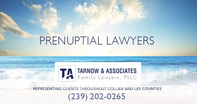 Prenuptial Lawyers in and near Naples Florida