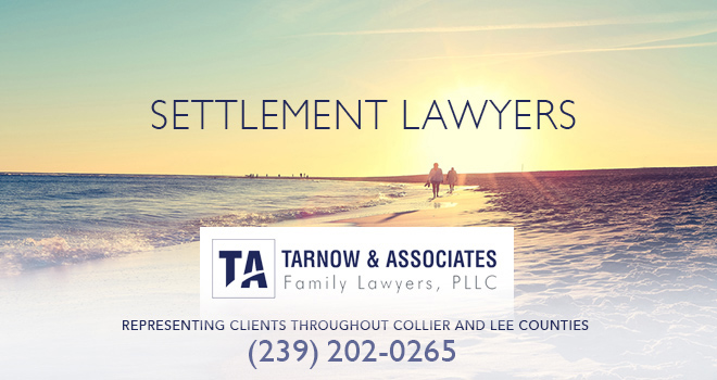 Settlement Lawyers in and near Naples Florida