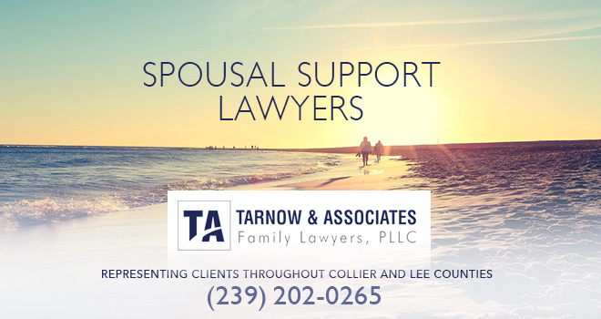 Spousal Support Lawyers in and near Naples Florida